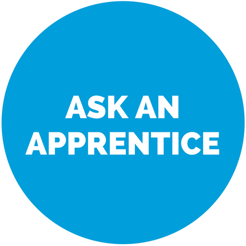 Ask an Apprentice Button